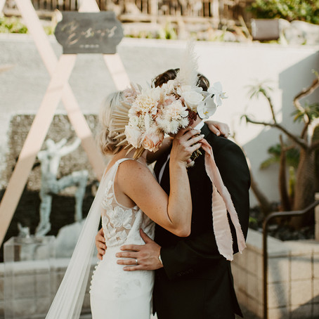 """Tips for Brides wanting """"Pink and Dried Floral Vibes"""""""