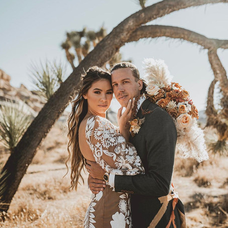 4 Floral Tips for your Joshua Tree Elopement