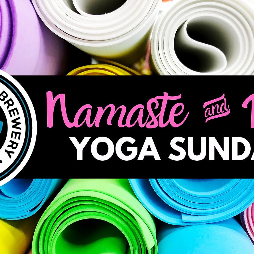 Namaste & Drink Yoga Sundays