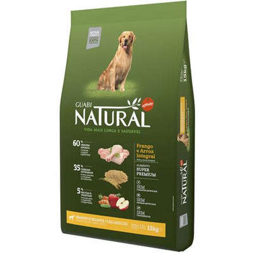 Ração Affinity Guabi Natural Frango e Arroz Integral -Cães Adultos Raças Grandes