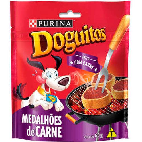 Petisco Purina Doguitos Medalhões de Carne para Cães