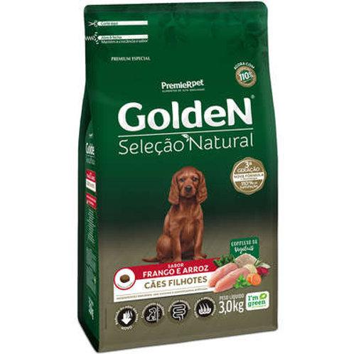 Ração Golden Seleção Natural para Cães Filhotes