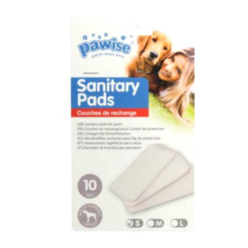 Absorvente Sanitário Pawise - 10 Unidades