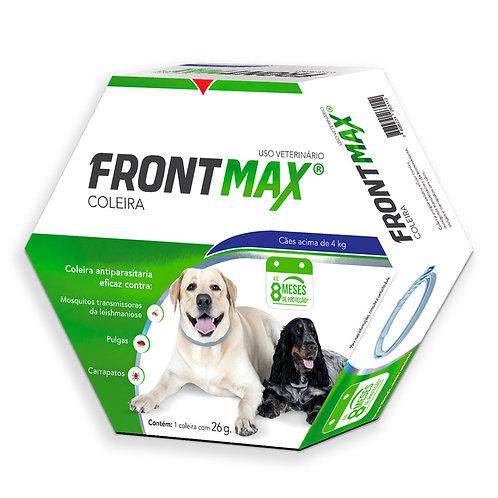 Coleira Anti Pulgas Cachorro acima de 4kg Frontmax