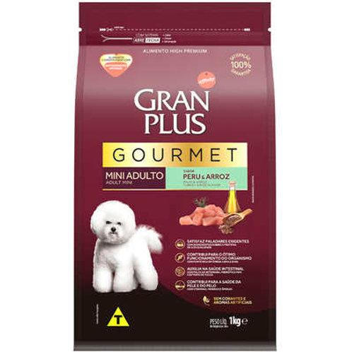 Ração GRANPLUS Gourmet para Cães Adultos MINI Sabor Peru & Arroz