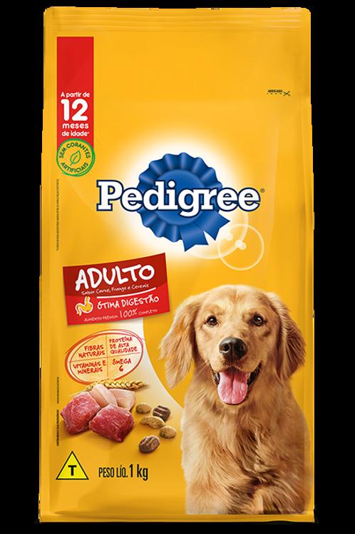 Ração Pedigree Adulto Carne, Frango & Cereais