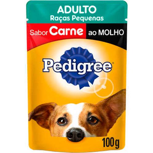 Sachê Pedigree Adulto Raças Pequenas Sabor Carne ao Molho - 100 g