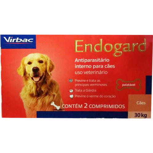 Vermífugo Endogard Cães até 30kg Virbac
