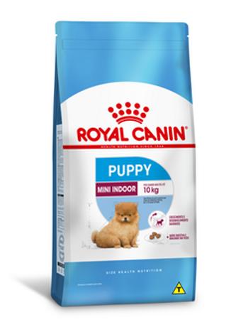 Ração Royal Canin Mini Indoor Puppy / Filhote