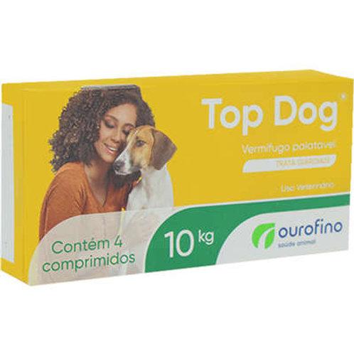 Vermífugo Top Dog Cães 10kg Ourofino