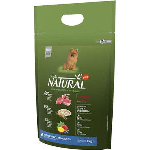 Ração Affinity Guabi Natural Cordeiro e Aveia Cães Adultos Raças Mini e Pequena