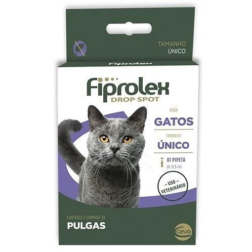Antipulgas Fiprolex Gatos Drop Spot 0,5 ml Ceva