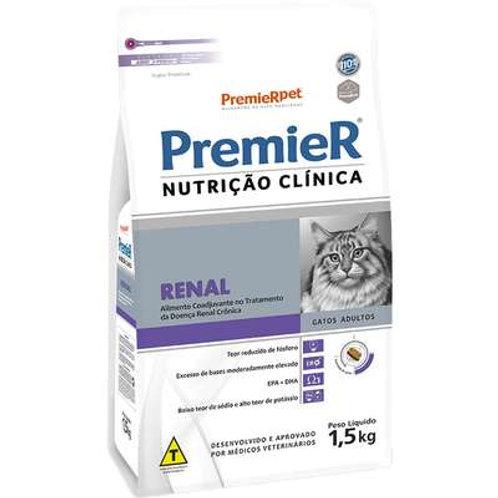 Ração Premier Nutrição Clínica para Gatos Renal - 1,5 Kg