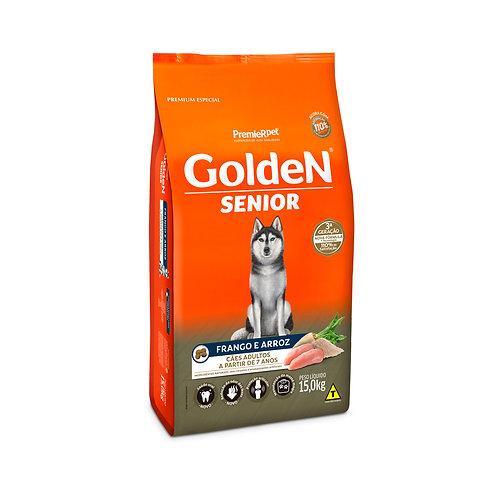 Ração Golden Adulto Senior Frango & Arroz - 15 KG