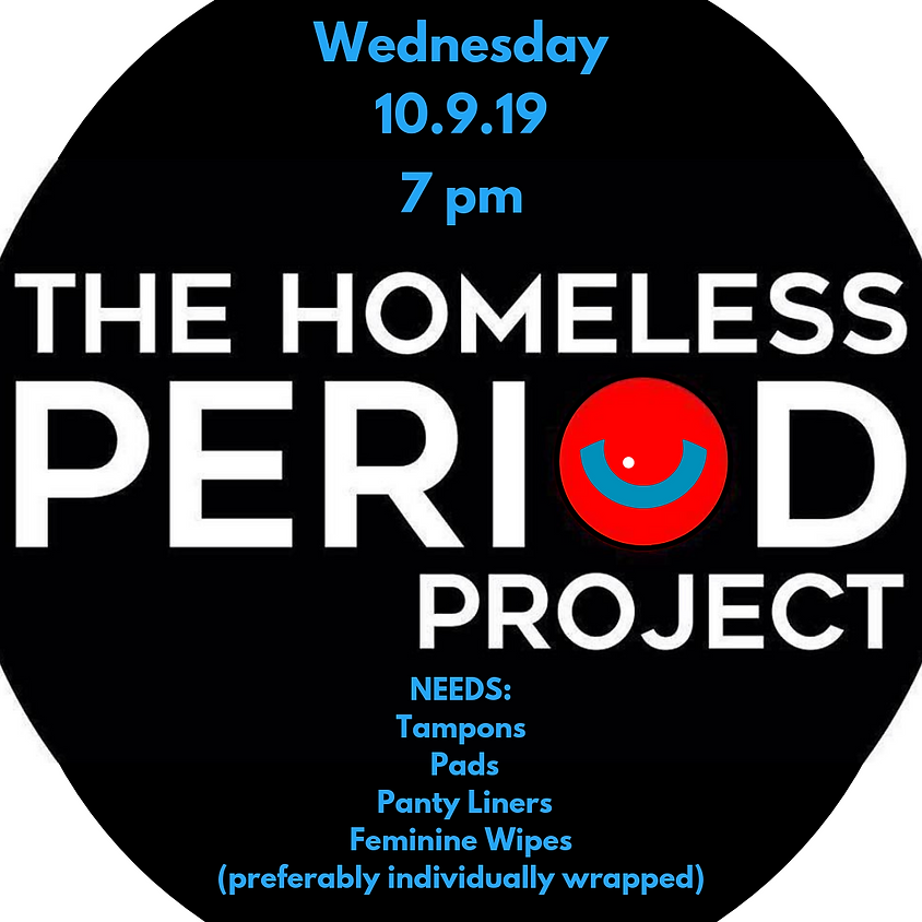 Homeless Period Project Packing Party