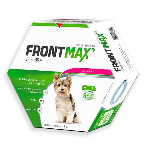 Coleira Anti Pulgas Cachorro Até 4kg Frontmax