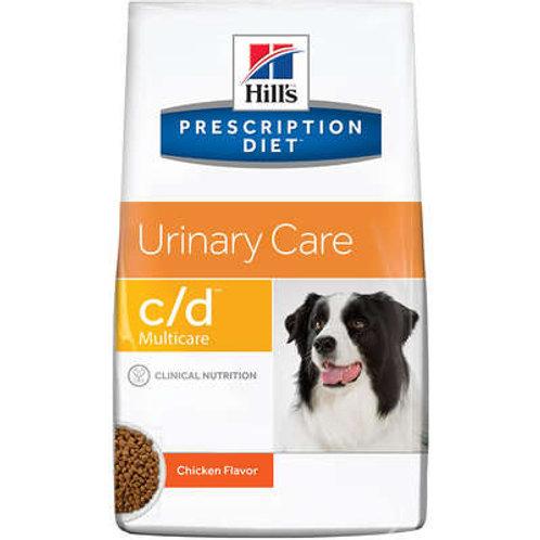 Ração Hill's Prescription Diet c/d Multicare Canino - Cuidado Urinário - 3.8 Kg