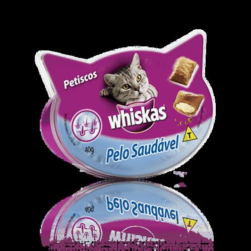 Petisco WHISKAS para Gato Pelo Saudável - 40 G