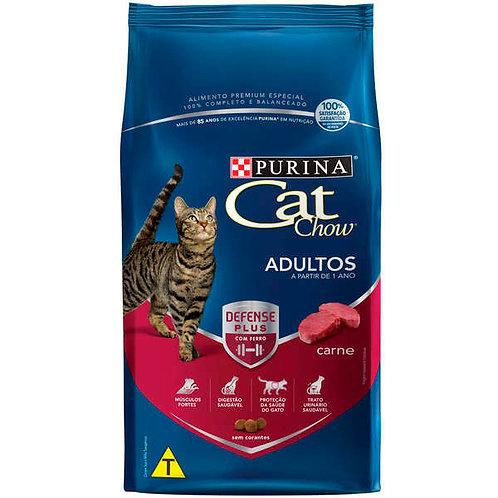 Ração Cat Chow Gatos Adultos Sabor Carne - 10,1 Kg