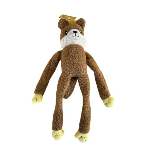 Brinquedo Chalesco Para Cães Esquilo de Pelúcia