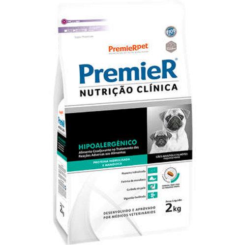 Ração Premier Nutrição Clínica Hipoalergênico para Cães de Pequeno Porte