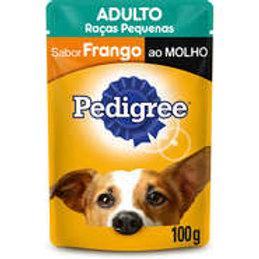Sachê Pedigree Adulto Raças Pequenas Sabor Frango ao Molho- 100 g