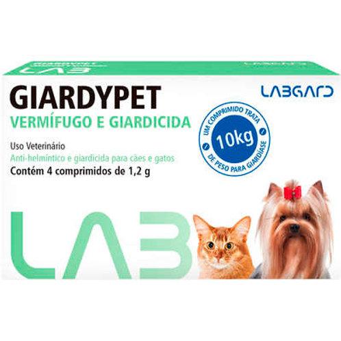 Vermífugo Giardypet Labgard