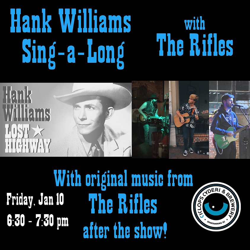 Hank Williams Sing-a-Long with The Rifles