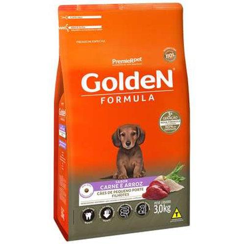 Ração Golden Formula Filhote Sabor Carne Raças Pequenas Minibits