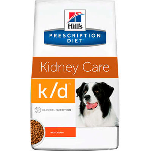 Ração Hill's Prescription Diet k/d Cuidado Renal para Cães Adultos