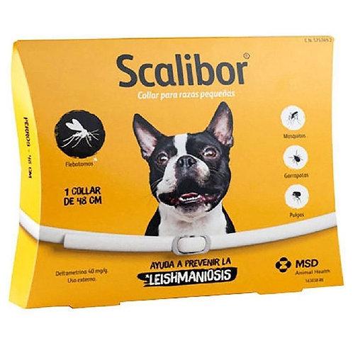 Coleira Antipulgas Scalibor 48cm Cães Pequenos e Médios