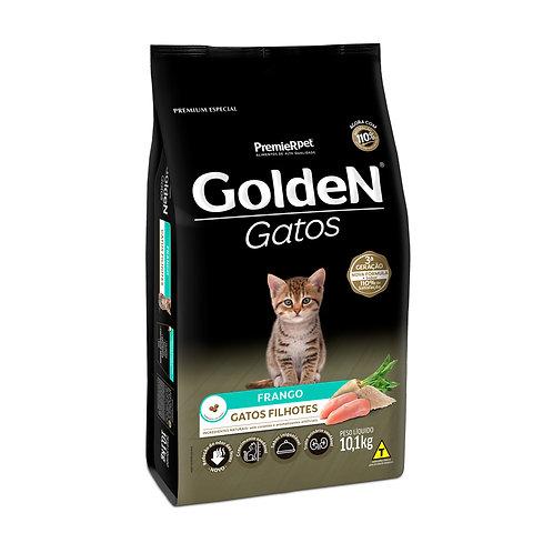 Ração Golden para Gatos Filhotes Frango - 10.1 Kg