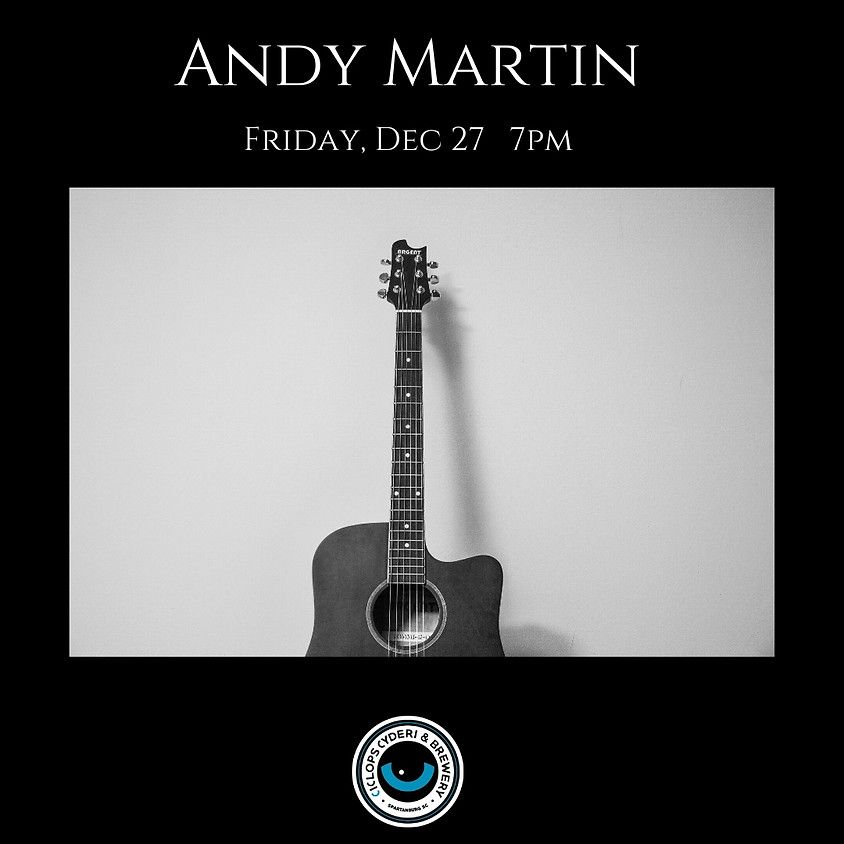Live Music with Andy Martin