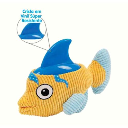 Brinquedo Chalesco Para Cães Tubafish