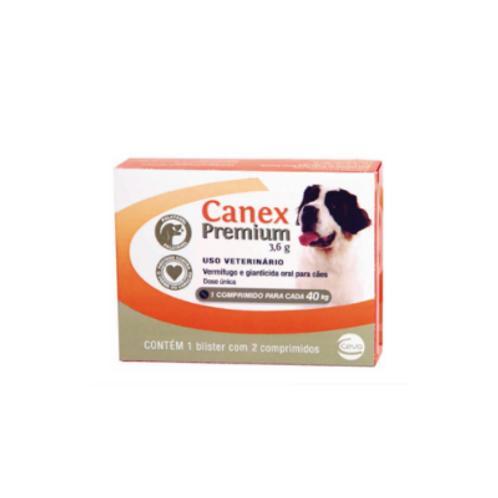 Vermífugo Canex Premium Cães 40kg Ceva