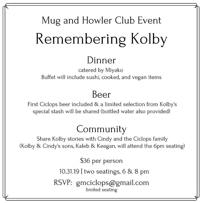 Mug and Howler Club Event