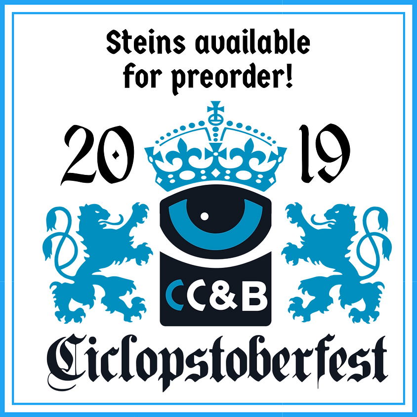 Ciclopstoberfest 2019 Stein Presale