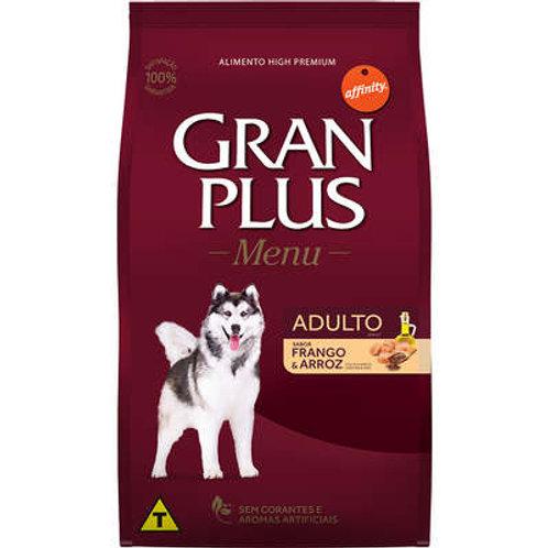 Ração GRANPLUS Menu para Cães Adultos Sabor Frango & Arroz