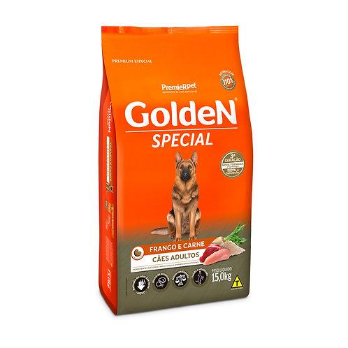 Ração Golden Special Adulto Frango e Carne - 15 Kg