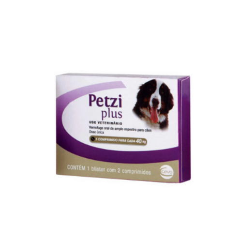 Vermífugo Petzi Plus 3,2g Ceva
