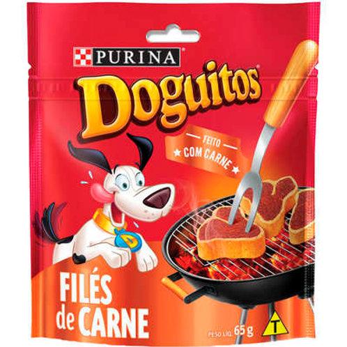 Petisco Purina Doguitos Filés de Carne para Cães