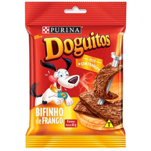 Petisco Purina Doguitos Bifinho de Frango para Cães