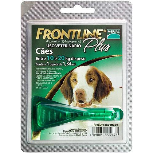 Antipulgas e Carrapatos Frontline Plus para Cães de 10 a 20kg