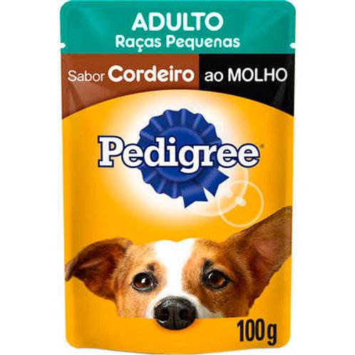 Sachê Pedigree Adultos Sabor Cordeiro Raças Pequenas - 100 G