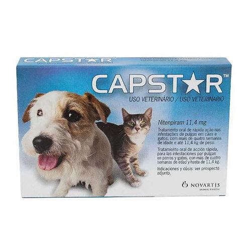 Antipulgas Capstar 11,4mg Cães e Gatos