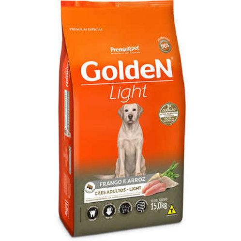 Ração Golden Cães Adultos Light Frango e Arroz - 15 Kg