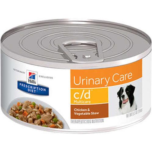 Sachê Hill's Prescription Diet c/d Multicare para Cães Cuidado Urinário