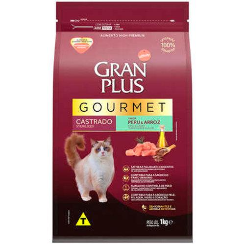 Ração GRANPLUS Gourmet para Gatos Castrados Sabor Peru & Arroz