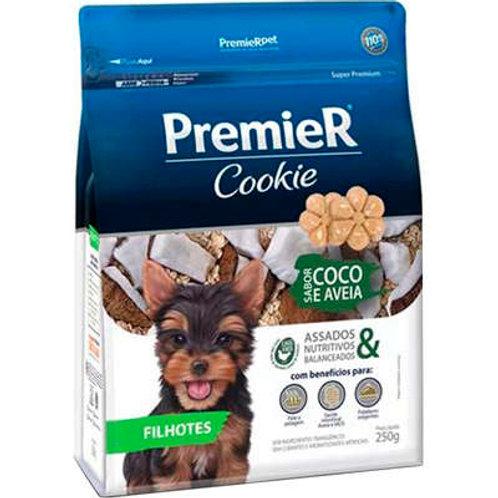 Cookie Premier Cães Filhotes Coco e Aveia - 250 G