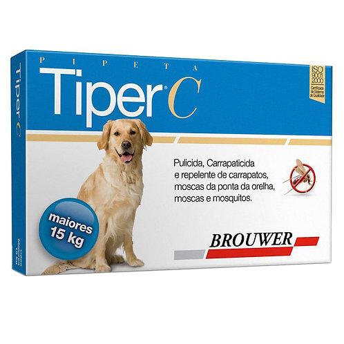 Tiper C para Cães acima 15 kg Pipeta Brouwer